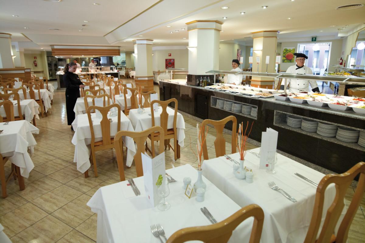RIU Don Miguel - hlavná reštaurácia