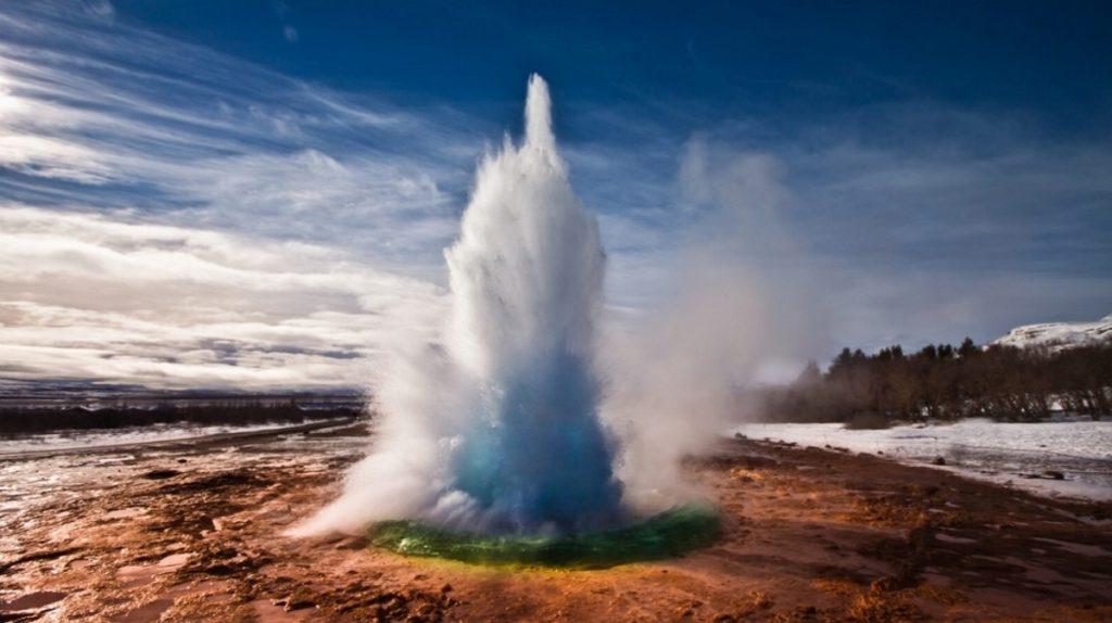 Island - Islandský pozdrav
