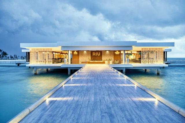 RIU Atoll - recepcia