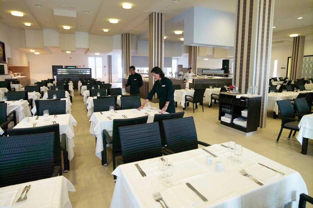 RIU Gran Canaria - hlavná reštaurácia