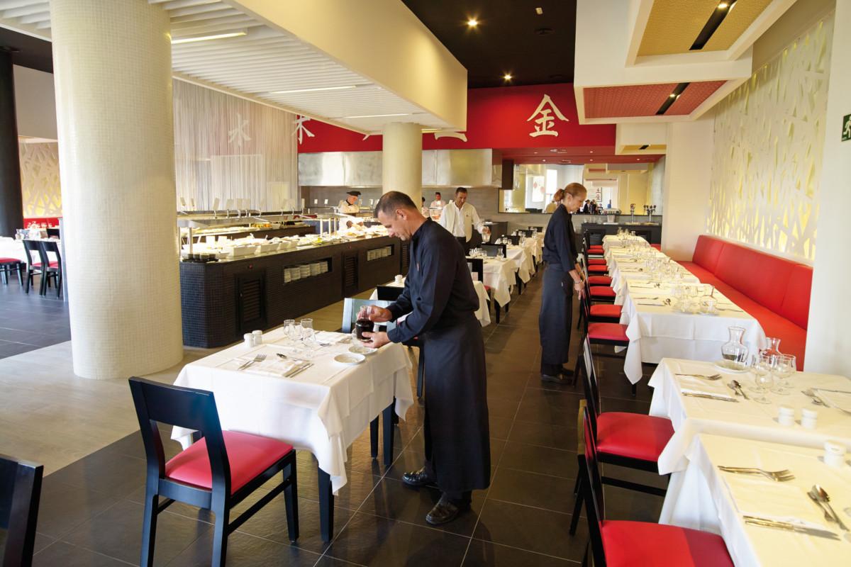 RIU Gran Canaria - ázijská reštaurácia