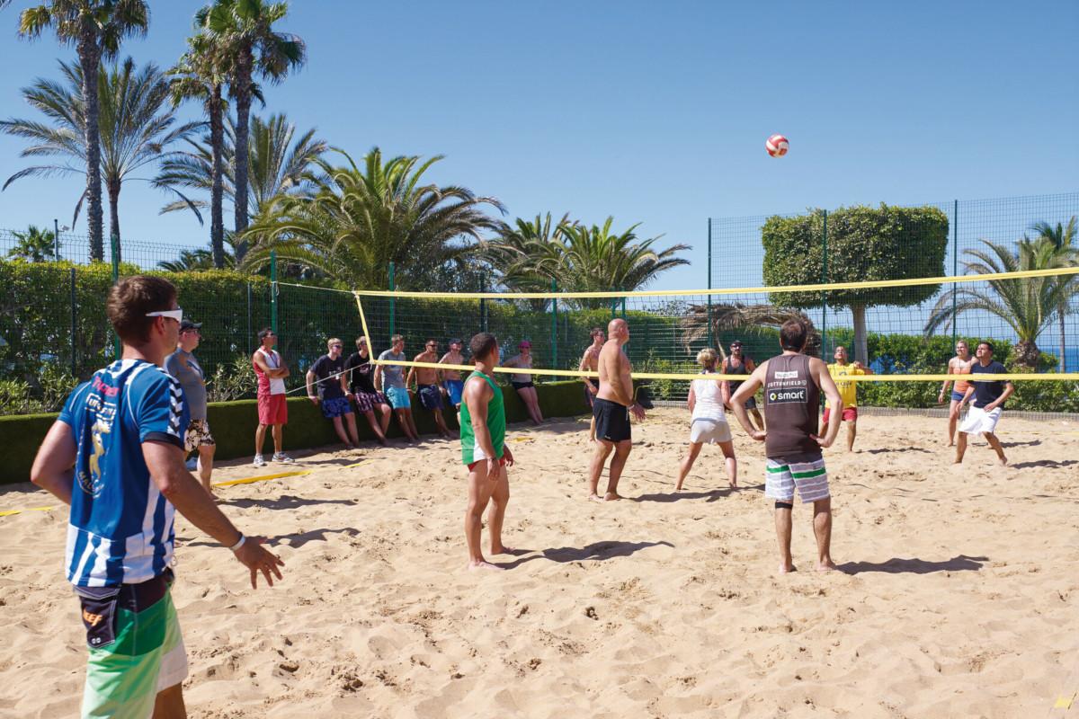 RIU Gran Canaria - plážový volejbal
