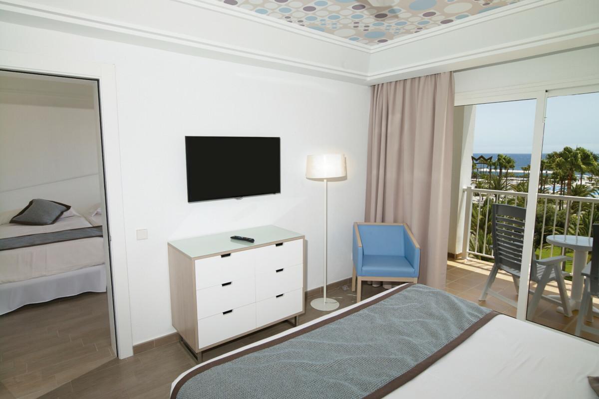 RIU Gran Canaria - rodinná izba s dvomi spálňami
