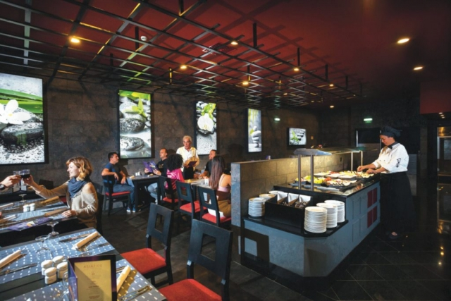 RIU Guarana - reštaurácia Tokyo