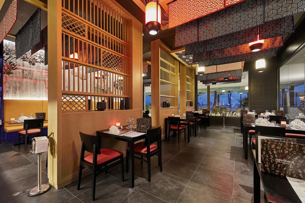 RIU Palace Maldivas - japonská reštaurácia