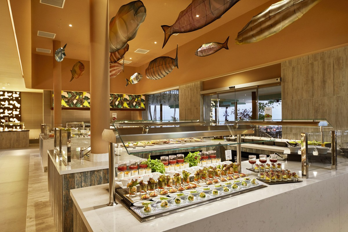 RIU Palace Maldivas - hlavná reštauráciua