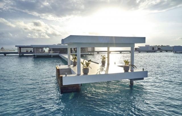 RIU Palace Maldivas - recepcia