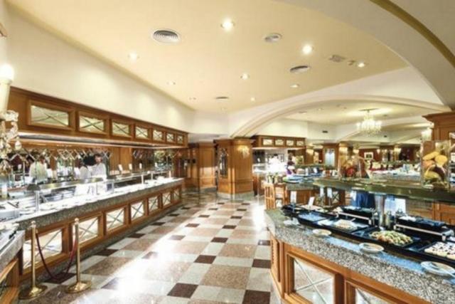 RIU Palace Maspalomas - hlavná reštaurácia