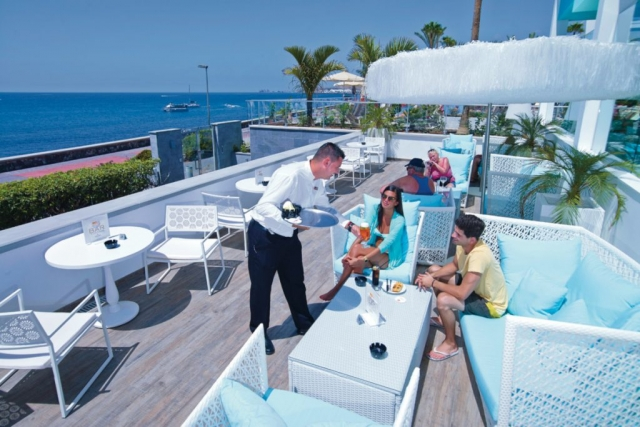 RIU Palace Meloneras - bar pri bazéne