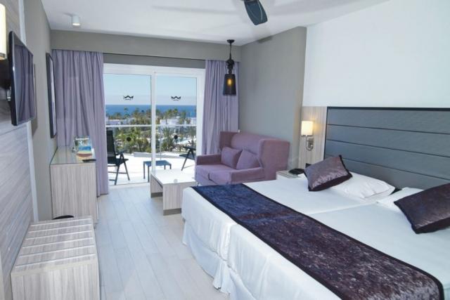 RIU Palace Meloneras - dvojlôžková izba bočným výhľadom na oceán