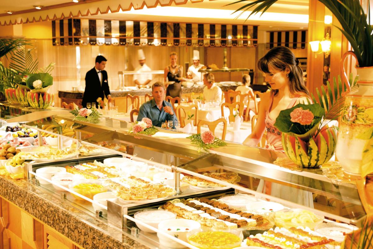 RIU Paraiso Lanzarote Resort - hlavná reštaurácia