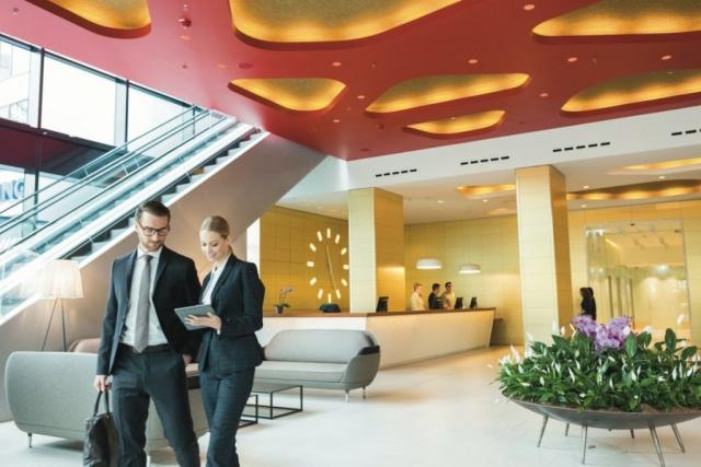 RIU Plaza Berlín - lobby