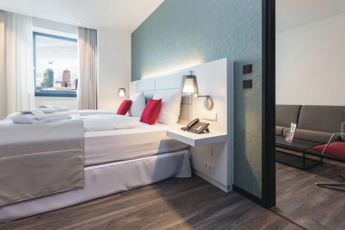 RIU Plaza Berlín - izba family suite