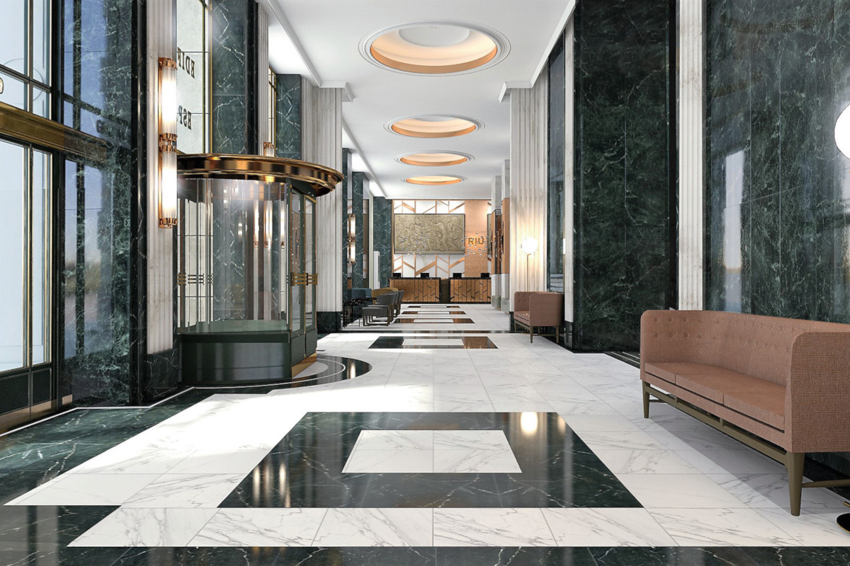 RIU Plaza España - lobby