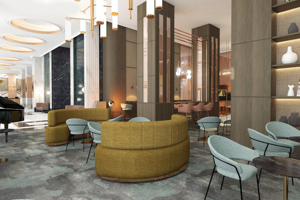 RIU Plaza España - lobby bar