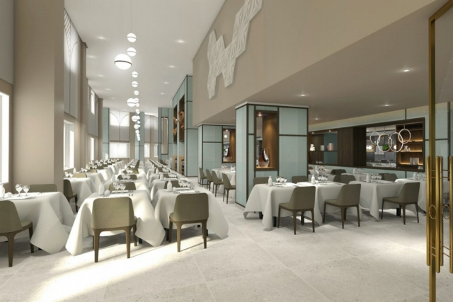RIU Plaza España - hlavná reštaurácia