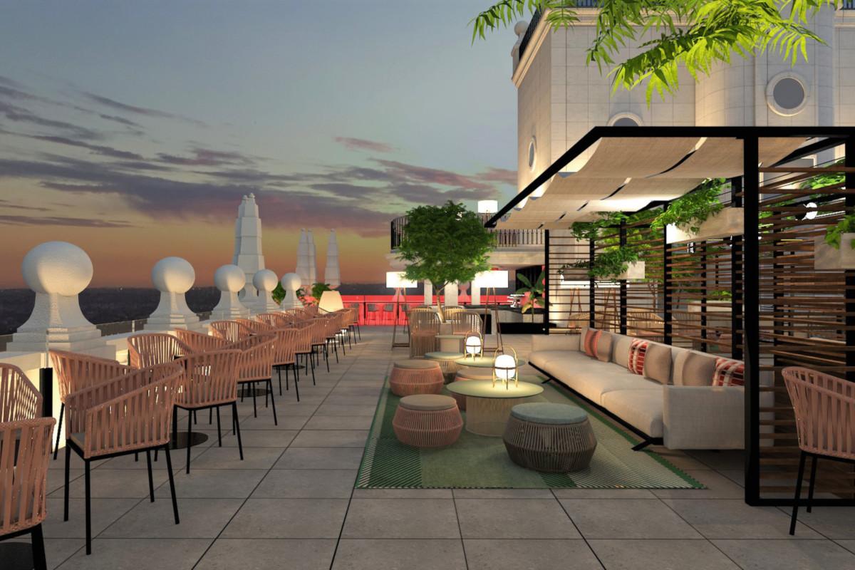 RIU Plaza España - Sky bar