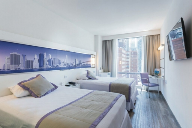 RIU Plaza New York Times Square - izba deluxe full bed (DLT)