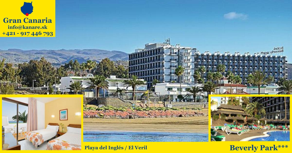 Playa del Inglés, hotel Beverly Park