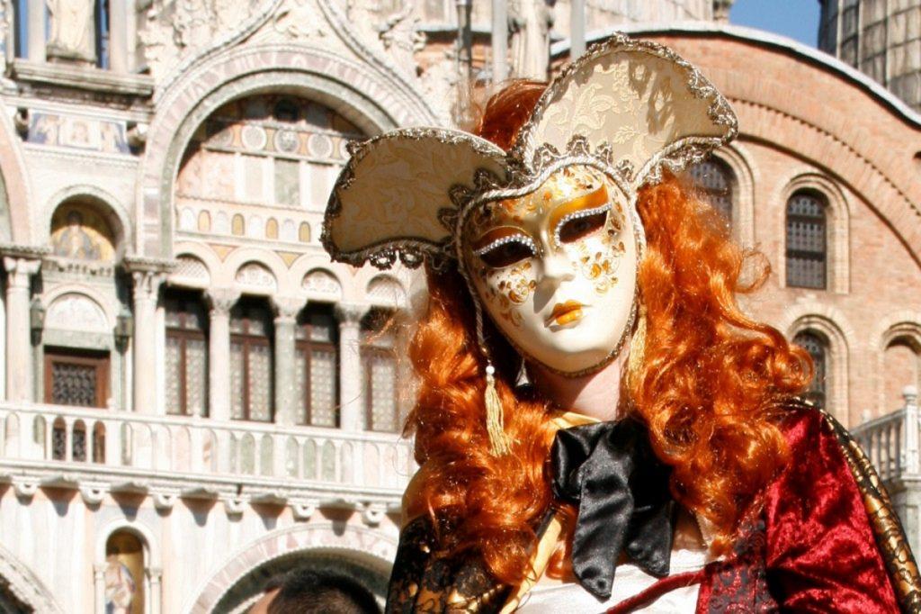 Karneval v Benátkach s letom anjela