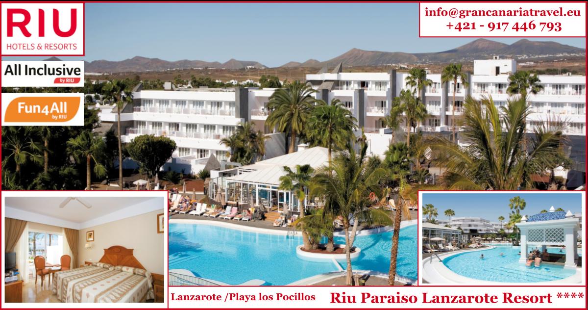 Lanzarote - RIU Paraiso Lanzarote Resort