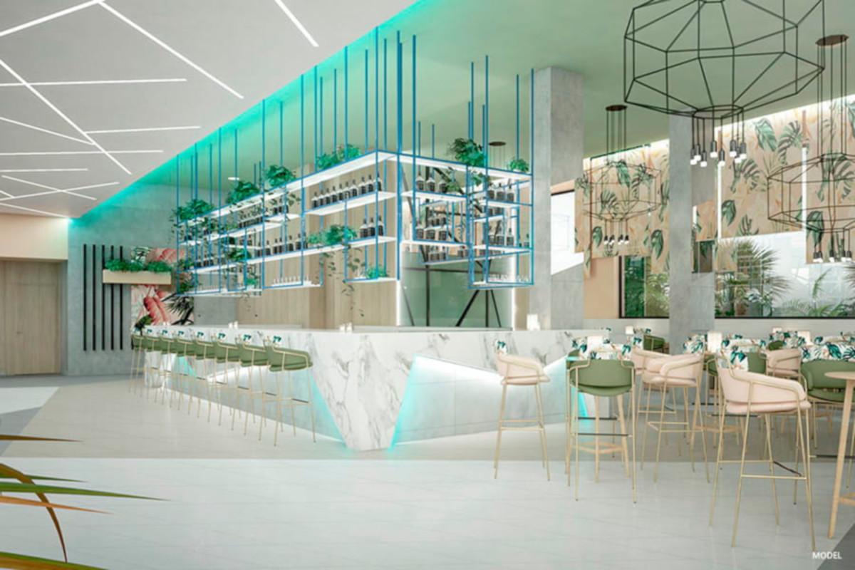 RIU Playa Park - Lobby bar (model)