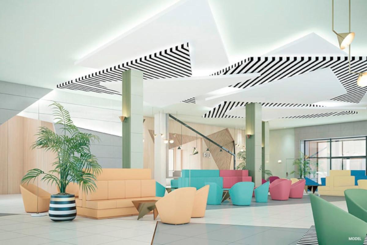 RIU Playa Park - lobby (model)