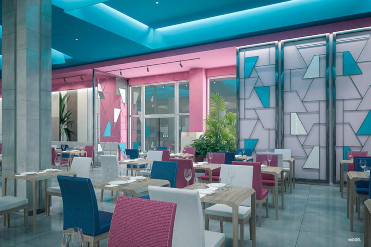RIU Playa Park - reštaurácia Spice (model)