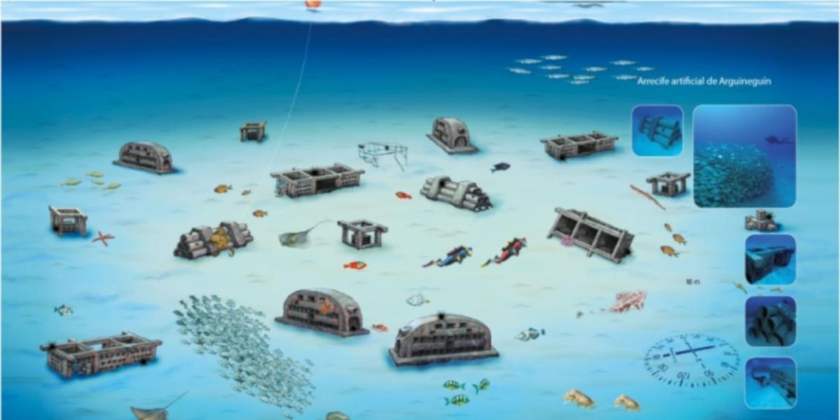 Gran Canaria - potápanie a snorchľovanie - Artifical Reef