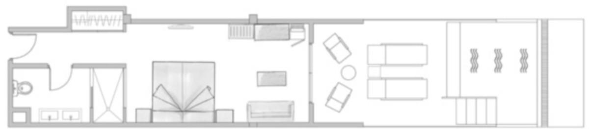 RIU Palace Oasis - pôdorys swim-up dvojlôžková izba (DDSP)