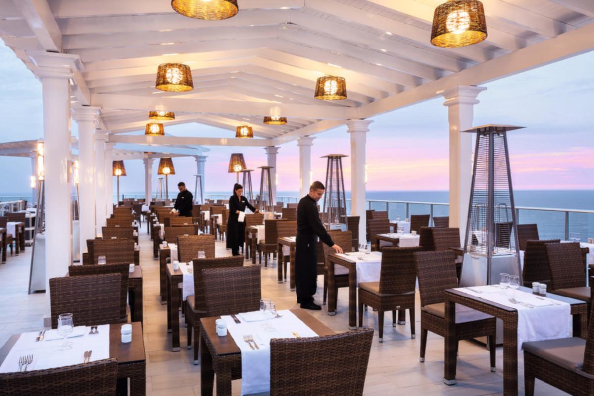Hotel RIU Vistamar, hlavná reštaurácia