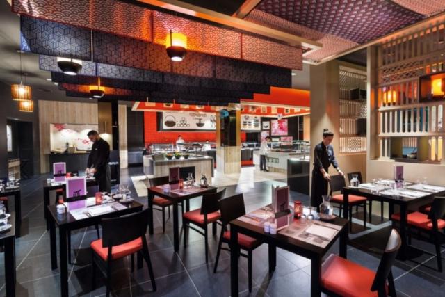 Hotel RIU Vistamar, reštaurácia Kai