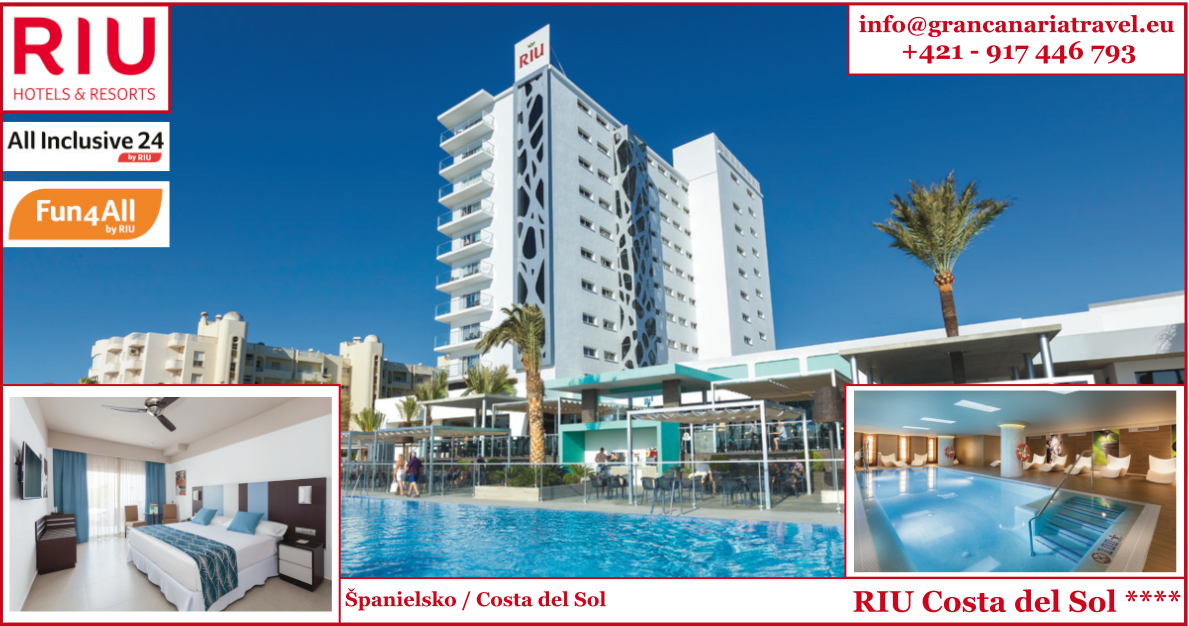 Španielsko - RIU Costa del Sol