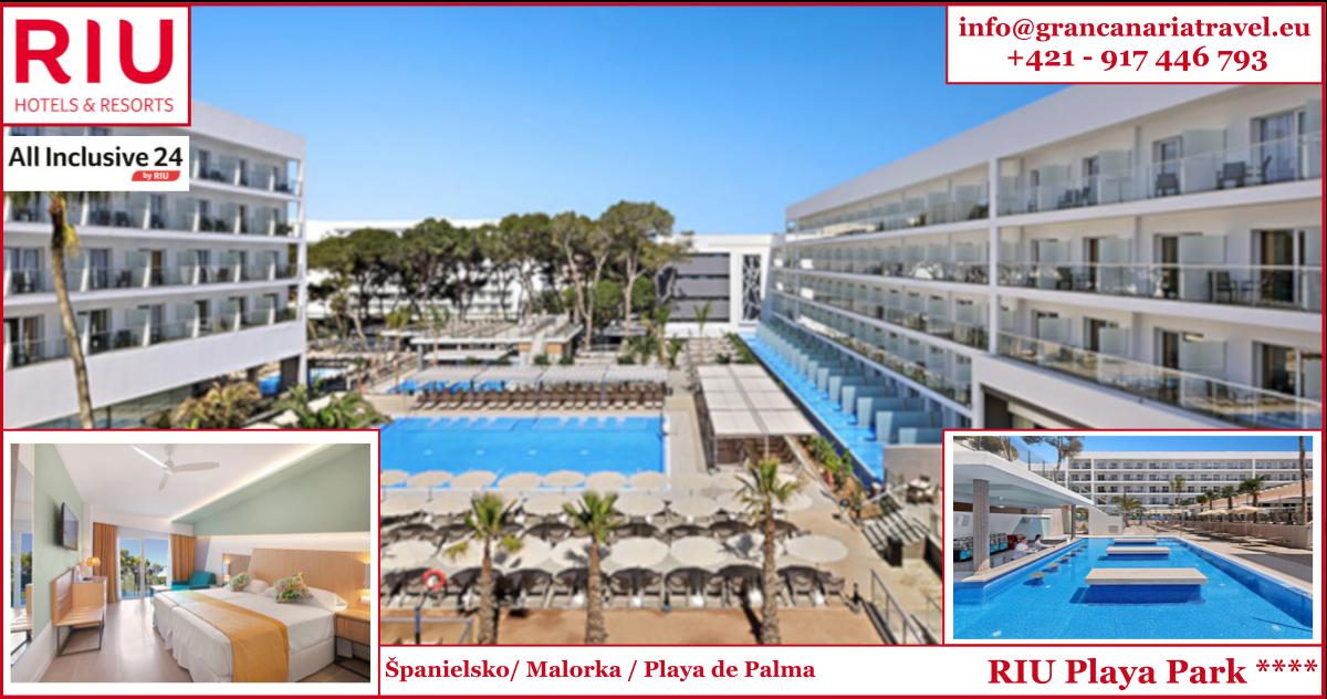 Španielsko, Malorka, RIU Playa Park