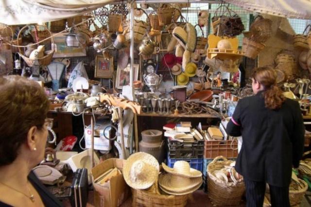 Trhy v San mateo a Teror